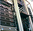 picture of one of our server racks
